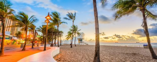 Ft. Lauderdale Beach, Florida, USA